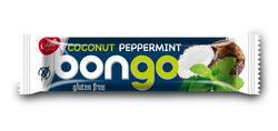 Bongo mint, kokosová tyčinka s mátovou příchutí v tmavé polevě 40g