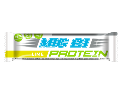 MIG 21 Protein bar lime 60g