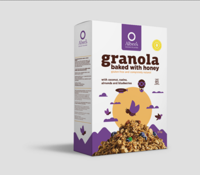Granola Blueberry 375g