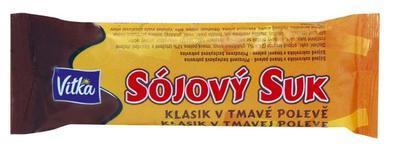 Sojový suk klasik v tmavé polevě 50g
