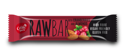 RawBar with cranberries and almonds 40g