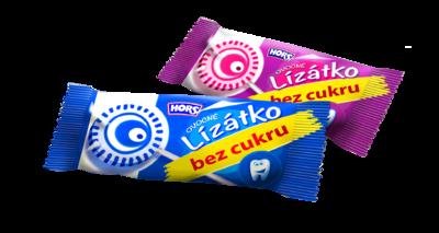 HORS ovocné lízátko bez cukru 10g